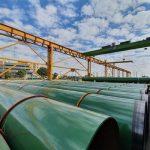تجلیل رئیس جمهور از شرکت لوله سازی اهواز بدلیل ساخت لوله های مورد نیاز پروژه استراتژیک خط لوله انتقال نفت گوره-جاسک